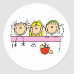 Girl Slumber Party Sticker