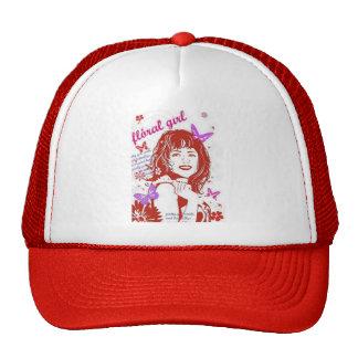 Girl Smile & Butterflies Trucker Hat