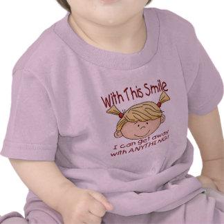 Girl Smile Shirts
