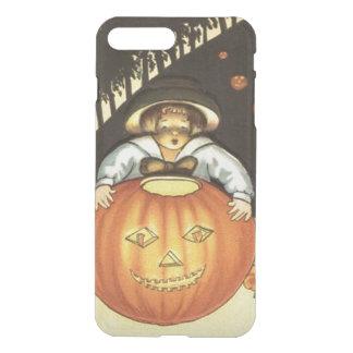 Girl Smiling Jack O' Lantern Pumpkin iPhone 8 Plus/7 Plus Case