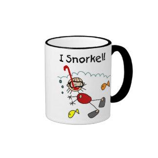 Girl Snorkeling Mug