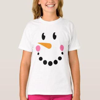 Girl Snowman T-shirt (Design 1)