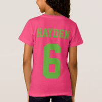 Girl Soccer Birthday Party T-shirt