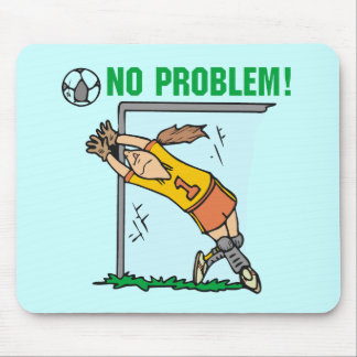 Girl Soccer Goalie T-shirts and Gifts Mouse Pad