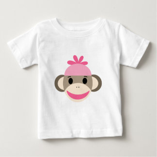 girl sock monkey baby T-Shirt