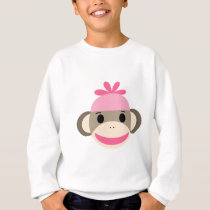 girl sock monkey sweatshirt