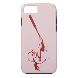 Girl Softball Hitter iPhone 7 Case