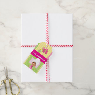 Girl Spa Birthday Party Guest Favor Gift Tags