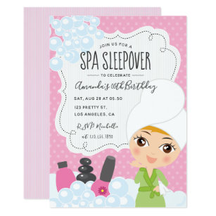 sleepover invitations zazzle