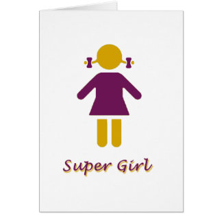 Girl - Super Girl Card