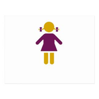 Girl - Super Girl Postcard