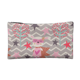 Girl Superhero Bunny Makeup Bag