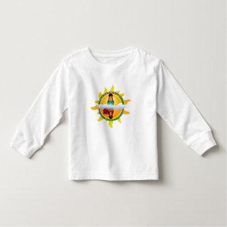 "Girl/Superhero ""How You See Me"" Kids Long Sleeve Toddler T-shirt"