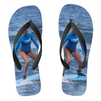 Girl Surfer Flip Flops