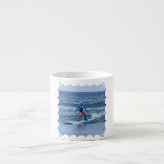 Girl Surfer Specialty Mug Espresso Cup