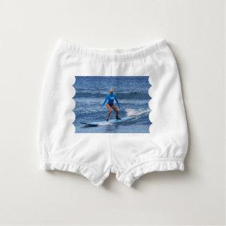 Girl Surfer Diaper Cover
