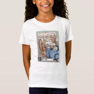 Girl T-Shirt - Hamster Freedom March (Kiwi Series)
