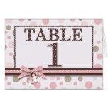 Girl Table Card 1