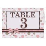 Girl Table Card 3