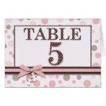 Girl Table Card 5