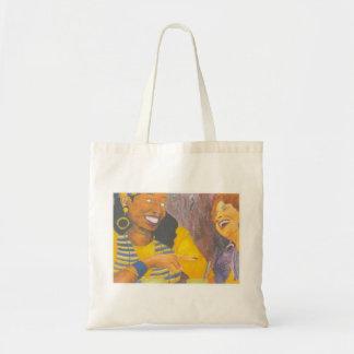 Girl Talk Budget Tote Bag