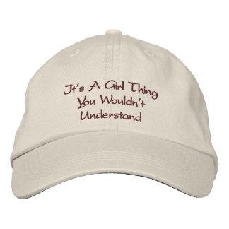 Girl Talk Cap