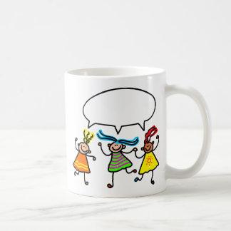 Girl Talk Coffee Mug