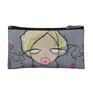 Girl Talk Make Up Bag Cosmetic Bags