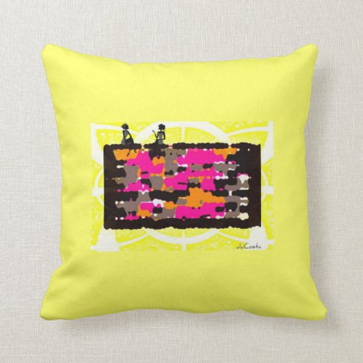 Girl Talk Pillow Microsoft Tag Reader Activated