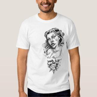 girl tattoo T-Shirt