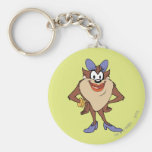 Girl TAZ™ in Color Key Chains