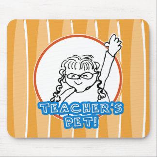Girl Teacher's Pet Mouse Pad