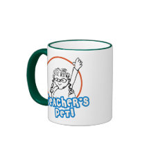 Girl Teacher's Pet mug