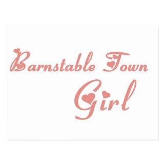 Girl tee shirts postcards