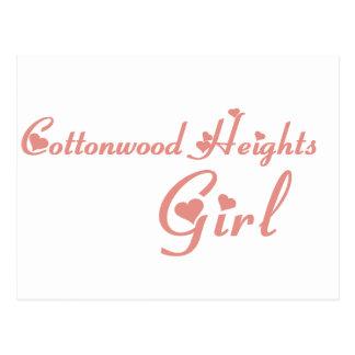 Girl tee shirts postcard