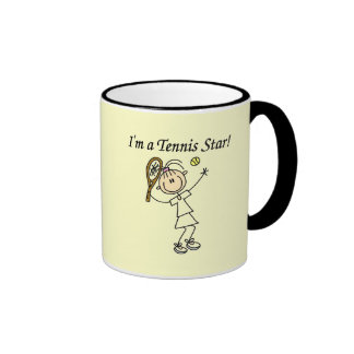 Girl Tennis Star T-shirts and Gifts Mug