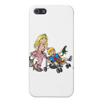 Girl to Mom Cover For iPhone 5