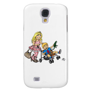 Girl to Mom Galaxy S4 Cover