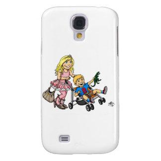Girl to Mom Samsung Galaxy S4 Case