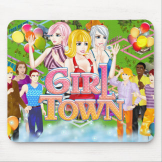 Girl Town Mousepad