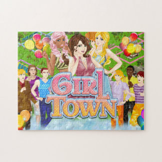 Girl Town Puzzle