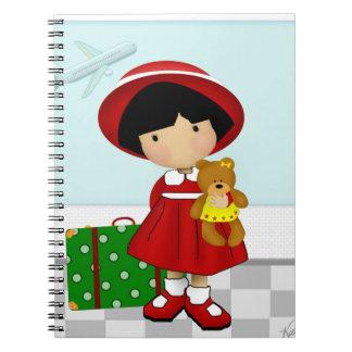 Girl Traveler Notebook