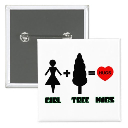 Girl+Tree=Hugs Button