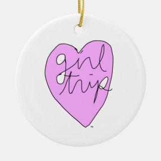 Girl Trip Apparel & Accessories Ceramic Ornament