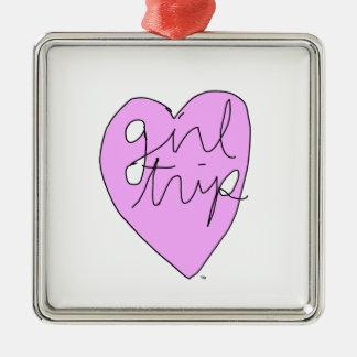 Girl Trip Apparel & Accessories Metal Ornament