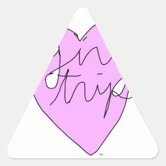 Girl Trip Apparel & Accessories Triangle Sticker