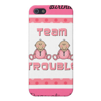 Girl Twins iPhone 5 Cover