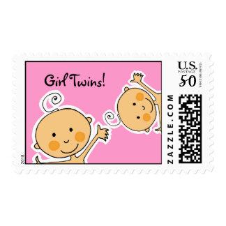 Girl Twins! Postage