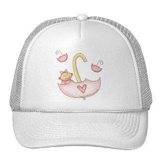 Girl Umbrella Trucker Hat