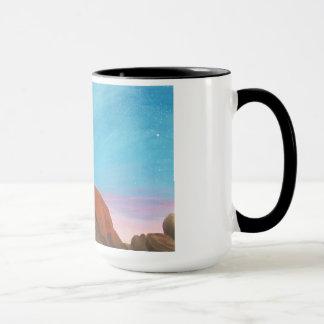 Girl under Stars-mug Mug